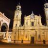 Theatinerkirche in München: Baubeginn war 1663 unter AGOSTINO BARELLI, ab 1674 ENRICO ZUCCALLI.