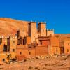 Eine Kasba im Atlas, die seit 1987 zum UNESCO-Weltkulturerbe gehört