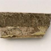 Proterovaginoceras, eine Nautiloidee (Weichtier, Kopffüßer) aus dem Ordovizium. Ihr Fundort liegt in Schweden, Länge: 8 cm Institut für angewandte Geowissenschaften der Technischen Universität Berlin (Fotograf: Wolf Schuchardt)