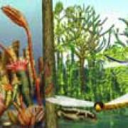 Karbon – Sumpfwälder übernehmen die Tropen (© Zoologisches Institut Göttingen, Planet Poster Editions)