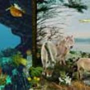 Tertiär (Paläogen und Neogen) – Säugetiere, Vögel und moderne Landpflanzen ( Zoologisches Institut Göttingen, Planet Poster Editions)