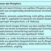 andere Modifikationen des Phosphors