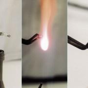 Verbrennung von Magnesium