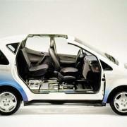 Auto mit Brennstoffzellenantrieb