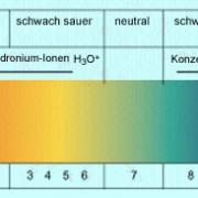 pH-Bereiche