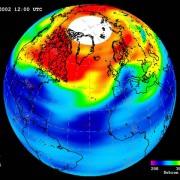 Ozonloch über der Antarktis 2009