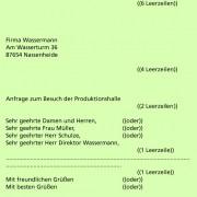 Der Sachliche Brief In Deutsch Schülerlexikon Lernhelfer
