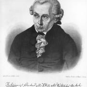 """IMMANUEL KANT (1724–1804) war Begründer des kritischen Idealismus. In einem seiner wichtigsten Werke, """"Kritik der reinen Vernunft"""" (1781), erforschte KANT die Grundlagen menschlicher Erkenntnis."""