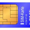 SIM-Karten sind typische Speichermedien in Mobiltelefonen