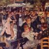 Impressionistische Stadtszene (Tanz im 'Moulin de la Galette') von AUGUSTE RENOIR
