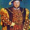 HEINRICH VIII. von England (1509 bis 1547) – Gemälde von HANS HOLBEIN dem Jüngeren.