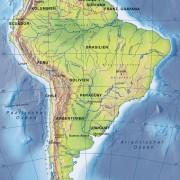 Oberflächenformen Südamerikas