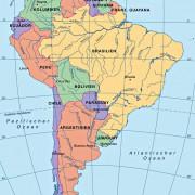 Die Staaten Südamerikas
