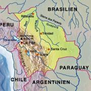 Bolivien und seine Nachbarn