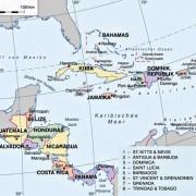 Staatliche Gliederung Zentralamerikas