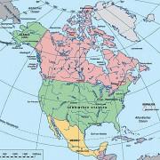 Nordamerika – Staatliche Gliederung
