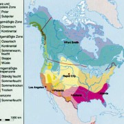 Klimazonen Nordamerikas