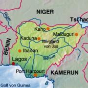 Lage von Lagos