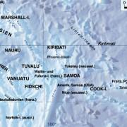 Die Inselstaaten Ozeaniens und ihre Lage