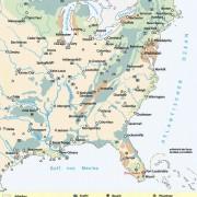 USA - Landnutzung und Bodenschätze (s. auch Bild 8)