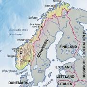 Norwegen und Nachbarländer