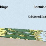 Oberflächenformen in Nordeuropa