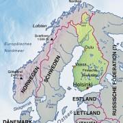 Finnland und Nachbarländer