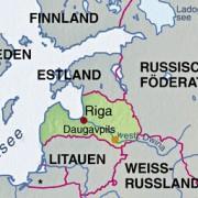 Lettland und Nachbarländer