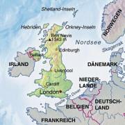 Vereinigtes Königreich Großbritannien und Nordirland und Nachbarländer