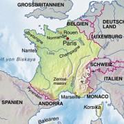 Frankreich und Nachbarländer