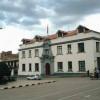 Das Rathaus (Municipalidad) am Hauptplatz (Plaza de Armas) in Puno. Der Platz wurde 1979 rekonstruiert.