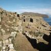 Der gut erhaltene Ruinenkomplex von Chincana im Norden der Sonneninsel war einst eine stattliche Inkasiedlung