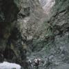 Die Adlerschlucht im Gobi-Altai mit mehrjährigem Eiskörper