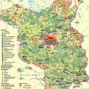 Bodennutzung und Industrie in Brandenburg