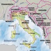 Italien und Nachbarländer