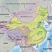 Die Lage Chinas