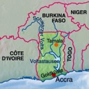 Lage Ghanas