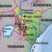 Lage Kenias