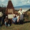 Gedenkstein für Prof. GRZIMEK und Sohn MICHAEL am südlichen Kraterrand des Ngorongoro