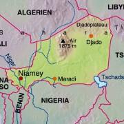 Die Lage Nigers