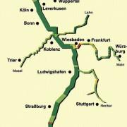 Gewässergüte des Rheins und seiner Nebenflüsse 1985