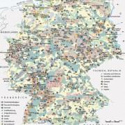 Wirtschaftsräume Deutschlands (Stand 2000)