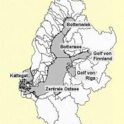 Die geografische Untergliederung der Ostsee