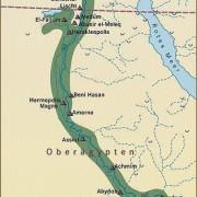 Wichtigste Stätten Altägyptens