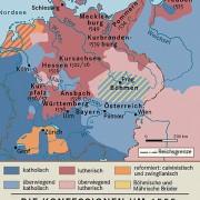 Die Konferssionen in Mitteleuropa um 1555