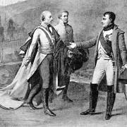 In der sogenannten Dreikaiserschlacht bei Austerlitz besiegte die napoleonische Armee am 2. Dezember 1805 das Bündnis aus russischen und österreichischen Truppen