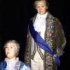 KATHARINA II. mit POTEMKIN im Wachsfigurenkabinett