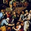 """GIORGIO VASARI: """"Der Prophet Elieser"""";um 1566, Öl auf Holz,                             40 × 29cm;Florenz, Galleria degli Uffizi."""