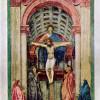 MASACCIO (1401–1429): Dreifaltigkeit, 1426–1428, Fresko, 680 × 475 cm, Florenz, Santa Maria Novella.