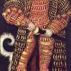 LUCAS CRANACH DER ÄLTERE (1472–1553): Porträt des Herzogs Heinrich der Fromme von Sachsen, 1514, Öl auf Leinwand, 185 x 82,5 cm, Dresden, Gemäldegalerie.
